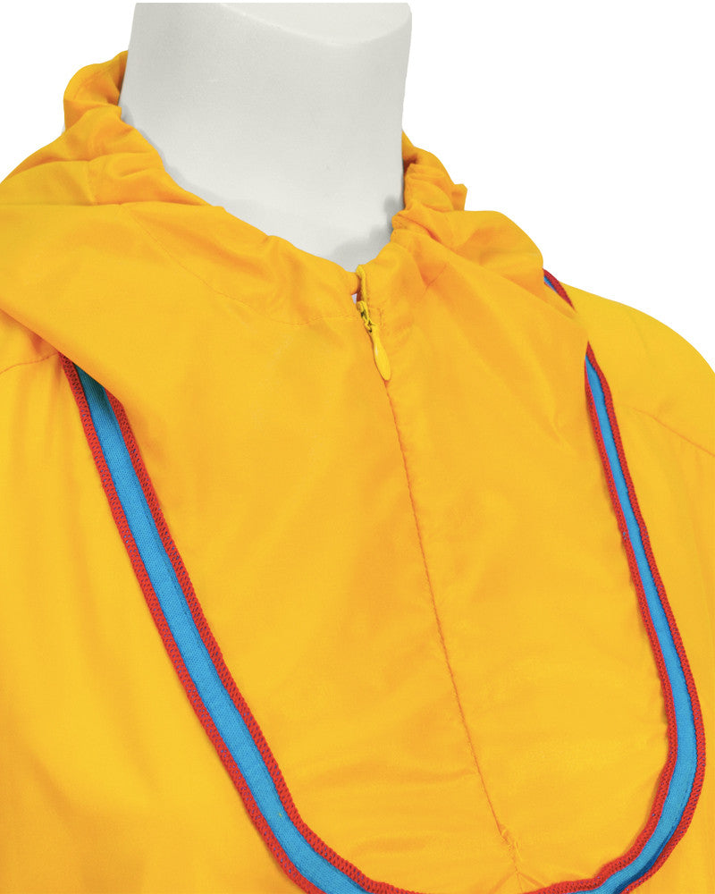 Yellow Windbreaker Outfit