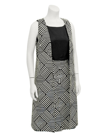 Black & White Geometric Set