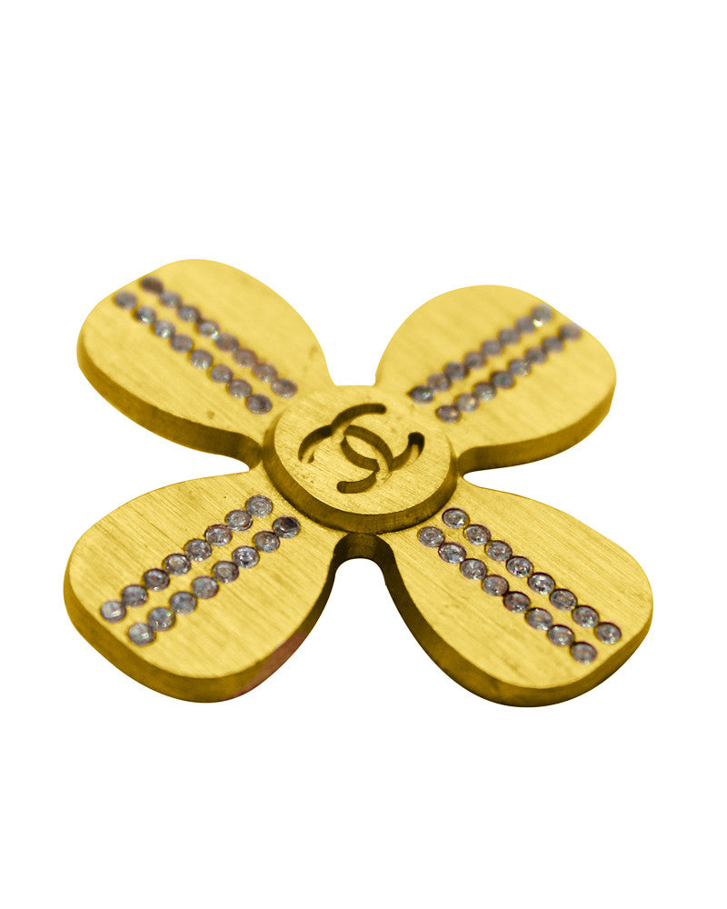 Gold Clover pin