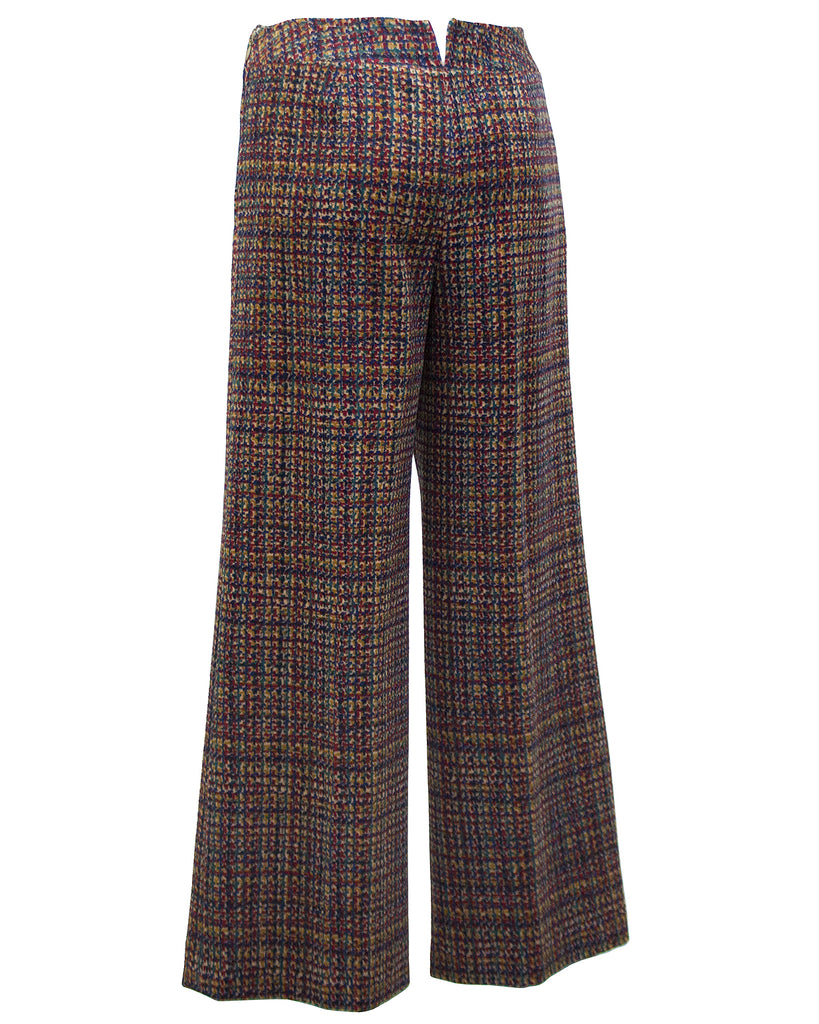 Brown Wool and Cashmere Trousers