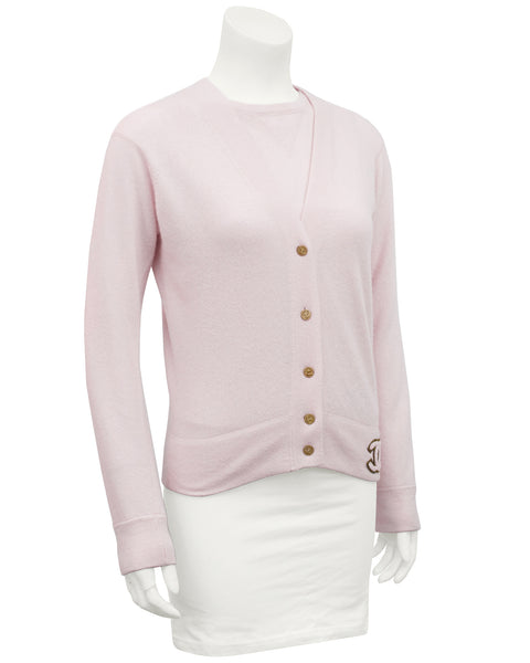 Pink Chanel Cashmere Twinset