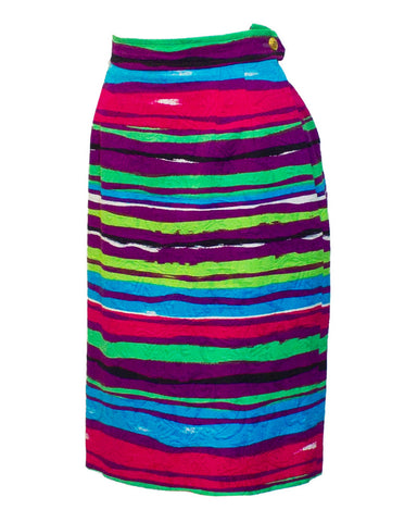 Multi-colored Cocktail Skirt