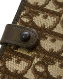 Brown Logo Fabric Purse Sized Vanity Kit