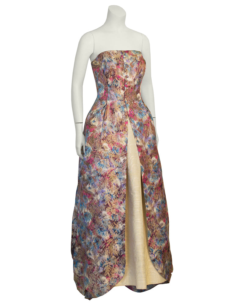 Floral Parisian Ball Gown