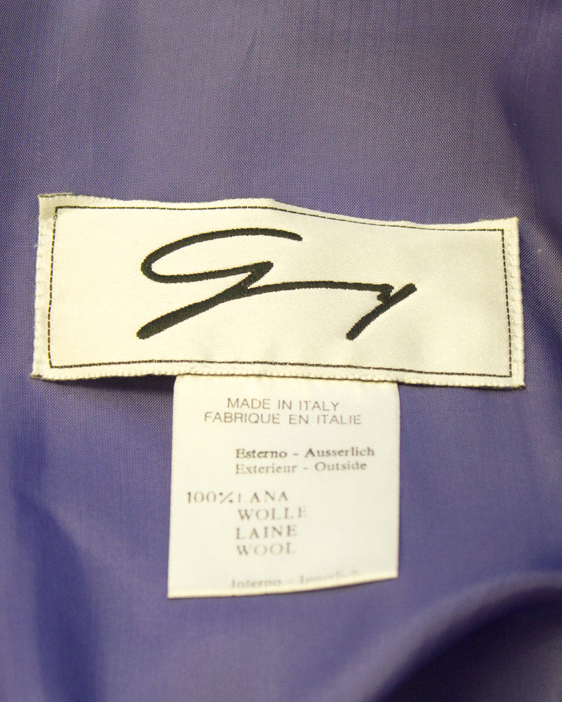 Purple Wool Jacket