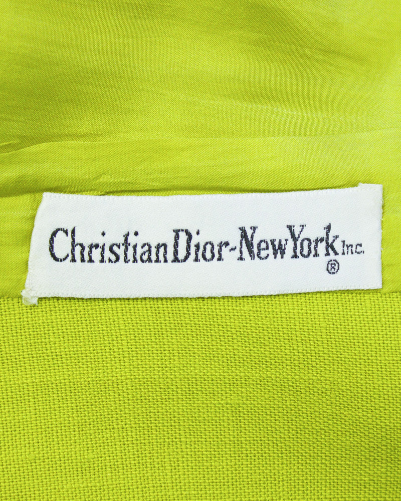 Lime Green Linen Suit