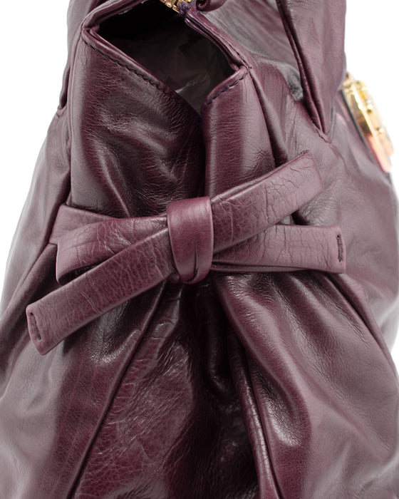 Hysteria Collection Maroon Leather Bag