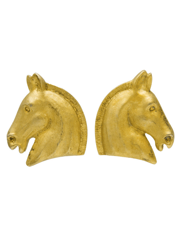 Horse Motif Earrings