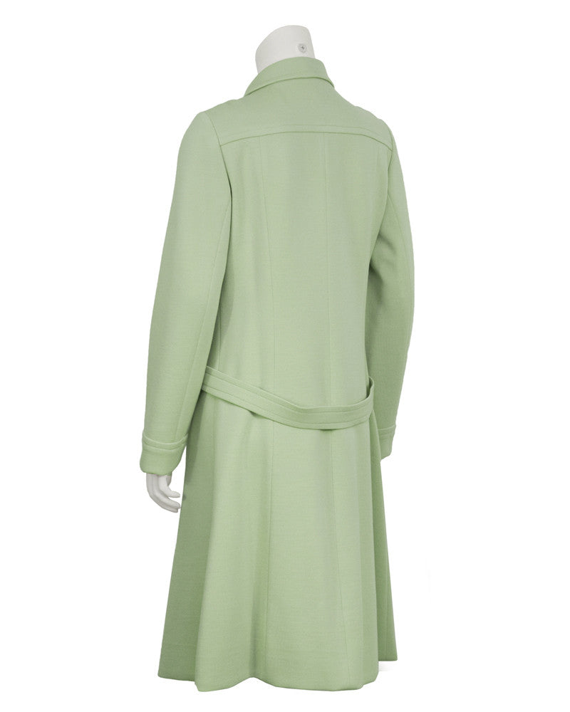 Mint Green Space/Age Coat
