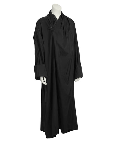 Black Oversized Windcoat