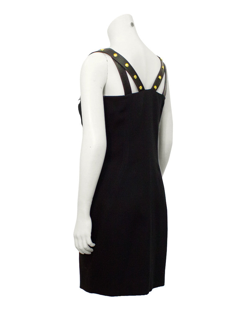 Black Versace Early Dress