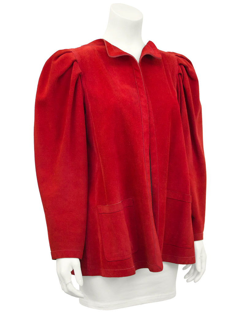 Red Suede Jacket
