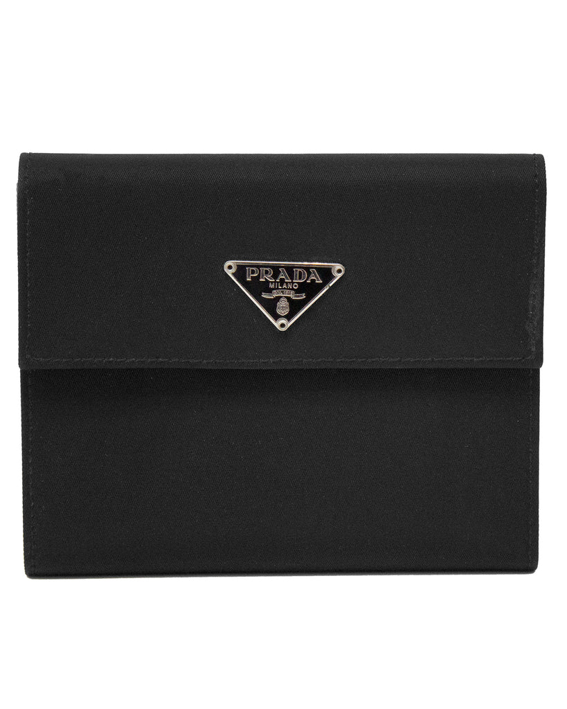 Black Nylon Wallet