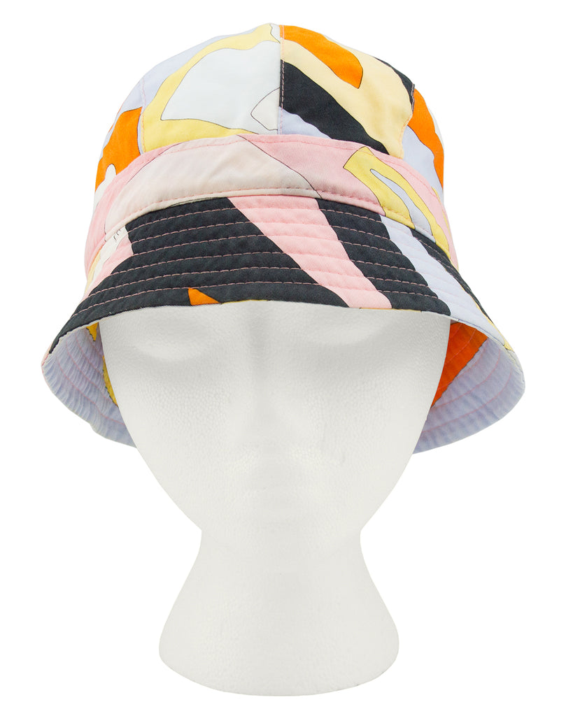 Multi Colour Cotton Bucket Hat