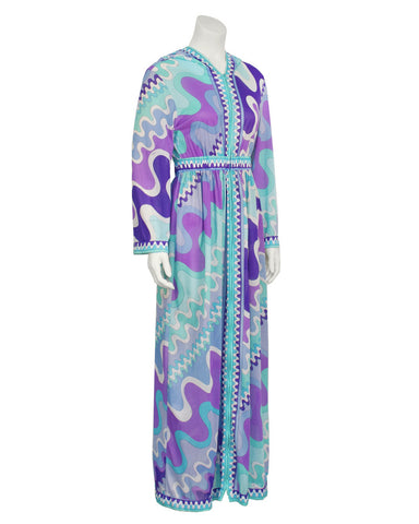 Hooded Maxi Cover-up