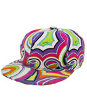 Multi-colour Printed Baseball Cap