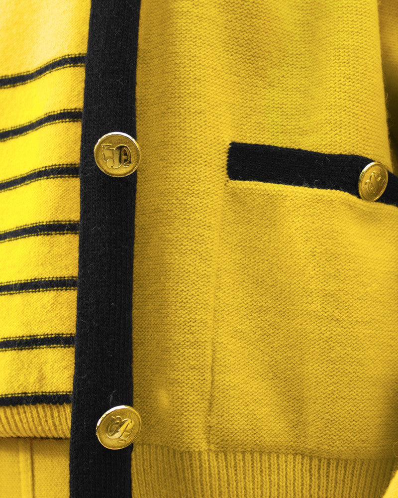 Yellow Knit Ensemble