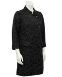 Black Brocade Coat