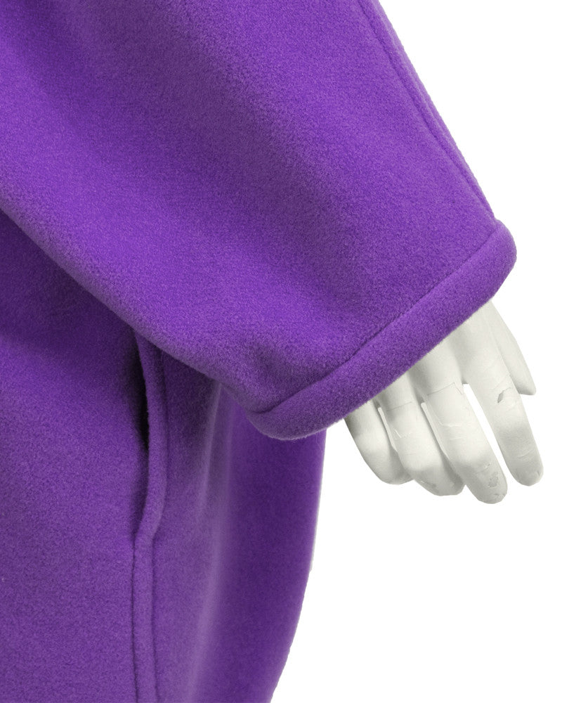 Purple Cocoon Jackets