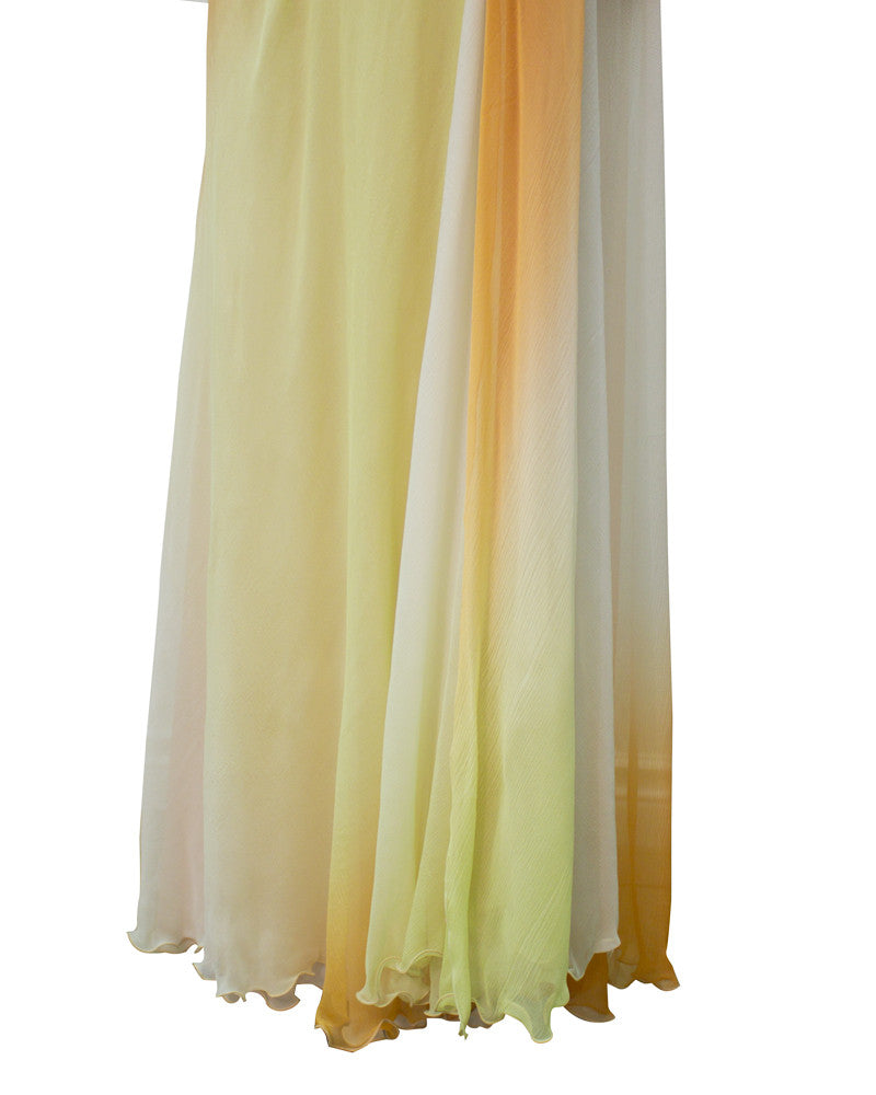 Tan Ombre Gown