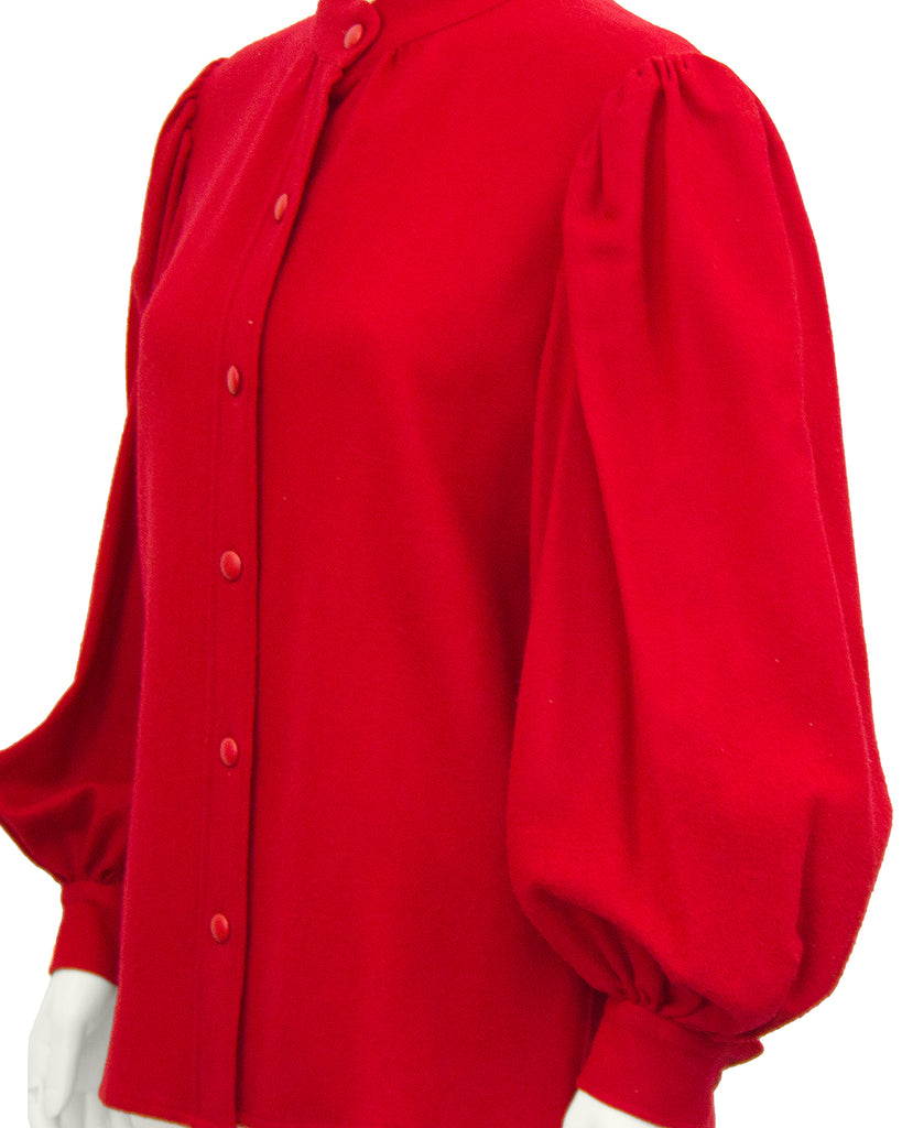 Red Balloon Sleeve Shirt