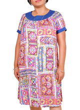 Load image into Gallery viewer, I Am A Goddess Tribal Print Dress ITA-209