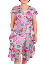 Load image into Gallery viewer, I Embrace Positivity Wrap Dress ITA-220