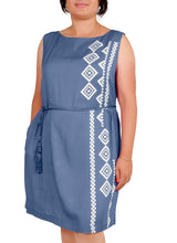 Load image into Gallery viewer, I Am Limitless Side Printed Dress ITA-229