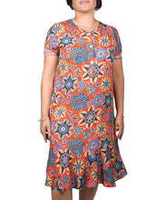 Load image into Gallery viewer, I Am Relaxed Floral Dress ITA-H817