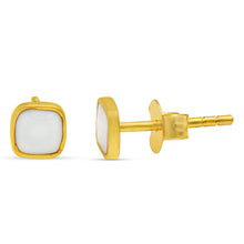 Load image into Gallery viewer, All Line Of My Life Is In Harmony Gold Plated Stud