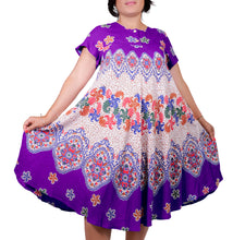 Load image into Gallery viewer, I Am Magical Batik Umbrella Dress ITA-H805