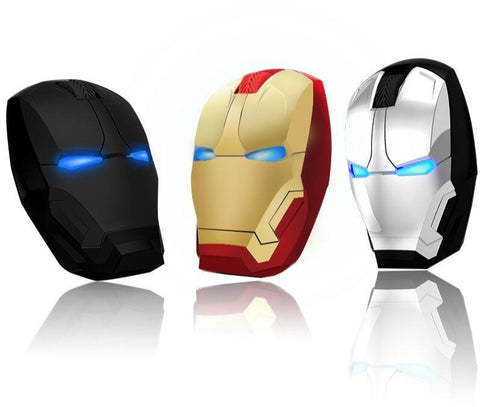 Iron Man Mouse Wireless Mouse Gaming Mouse