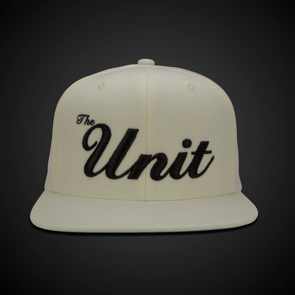 """The Unit"" (snapback) Hat in Natural / Black"