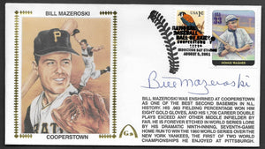 Bill Mazeroski Hall Of Fame - Autographed HOF