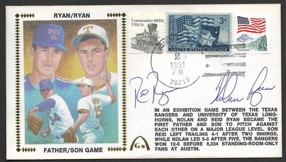 Nolan Ryan & Reid Ryan Father Son Game