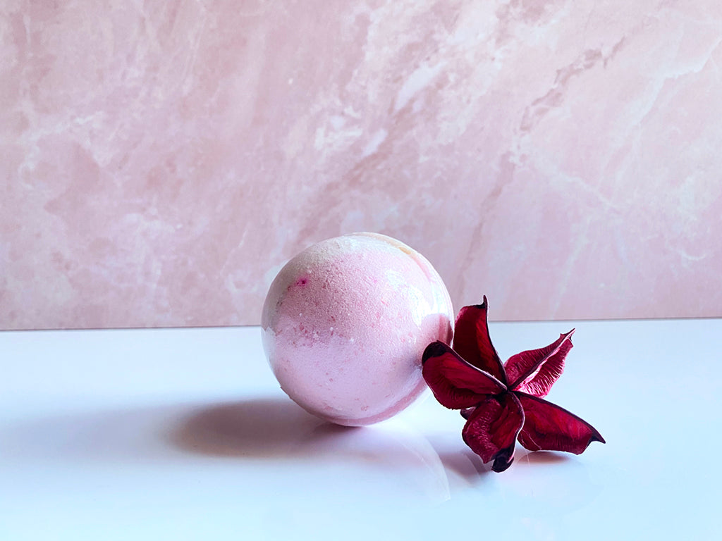 Citrus Rose Bath Bomb - Hummingbird Blends