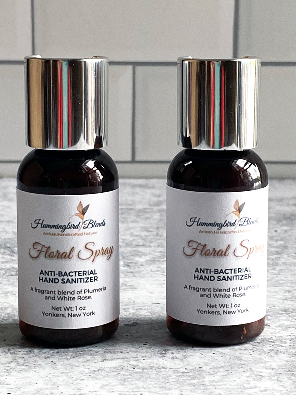 Floral Spray Hand Sanitizer - Hummingbird Blends