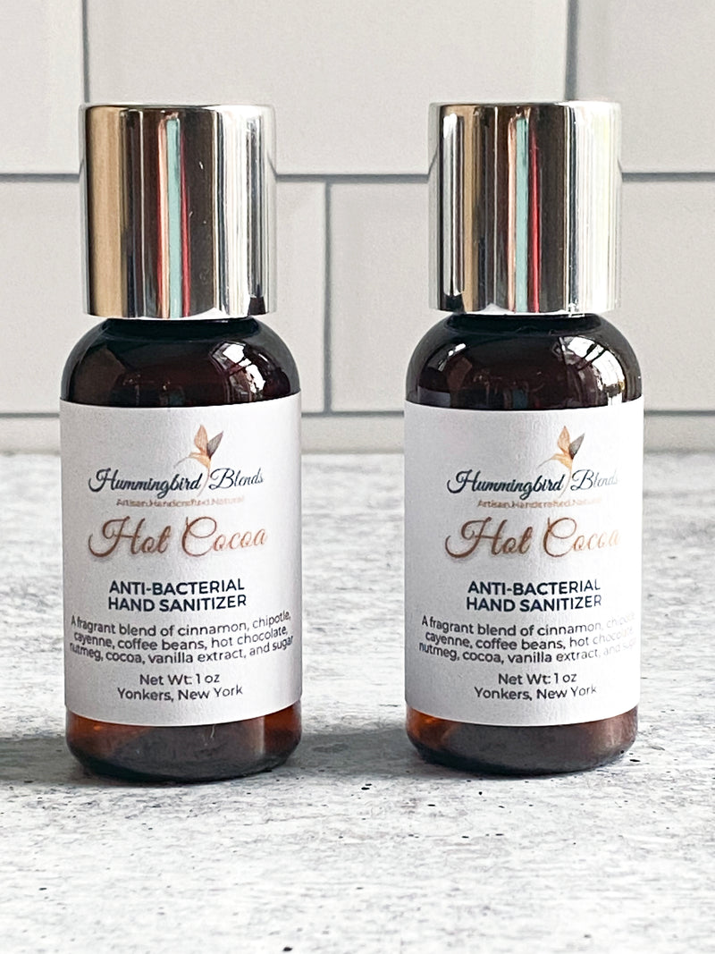 Hot Cocoa Hand Sanitizer - Hummingbird Blends