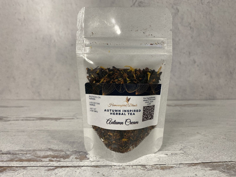 Autumn Cream Herbal Tea - Hummingbird Blends