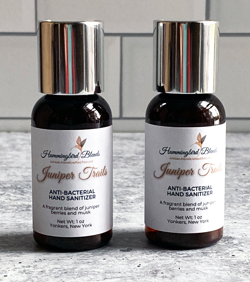 Juniper Trails Hand Sanitizer - Hummingbird Blends