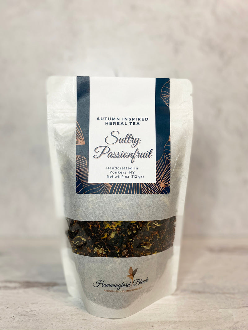 Sultry Passionfruit Herbal Tea - Hummingbird Blends