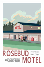Load image into Gallery viewer, Vintage Rosebud Motel Poster [Schitt's Creek]