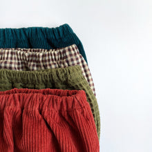 Load image into Gallery viewer, Rust Cotton Corduroy Bloomers
