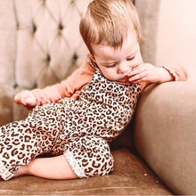 Load image into Gallery viewer, Leopard Print Unisex Cotton Romper