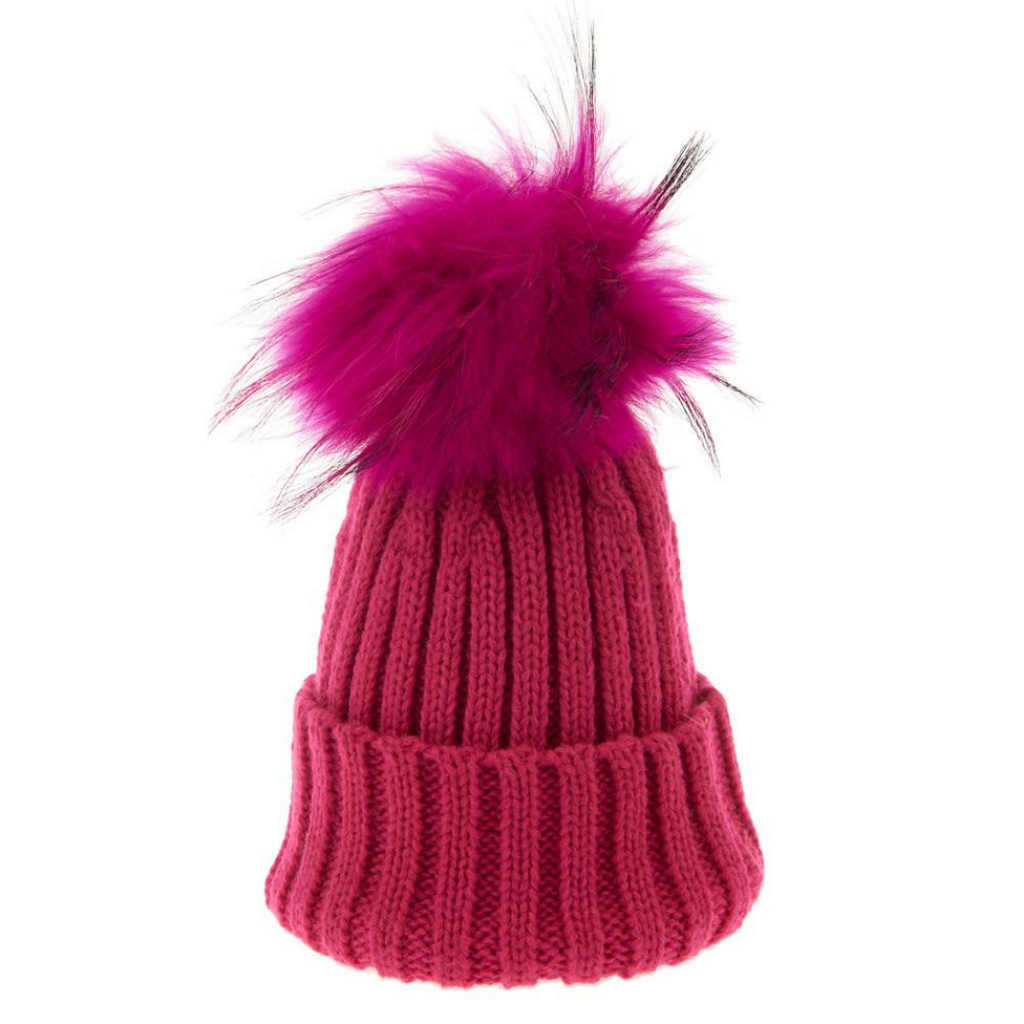 Bowtique-London-PomPom-Baby-Kids-Beanie-Bobble-Hats-Pink