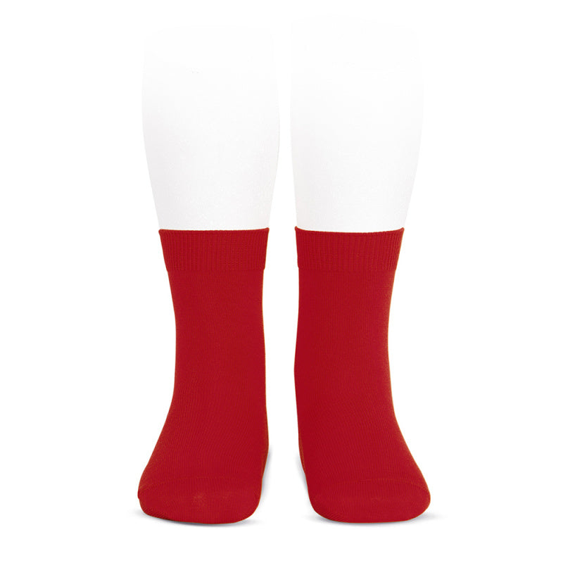 Condor_Plain_Red_Socks_Short