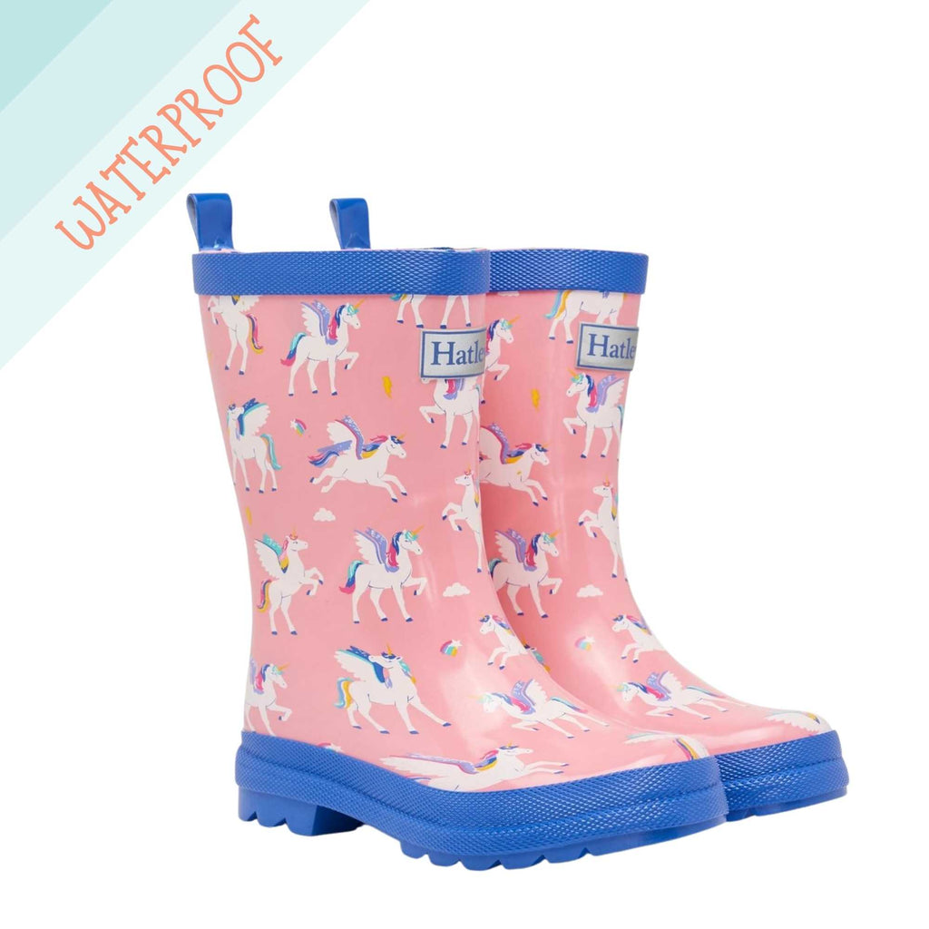 Hatley-Girls-Colour-Changing-Pink-Rain-Boots-Magical-Unicorn-Wellies-Chislers-Boutique