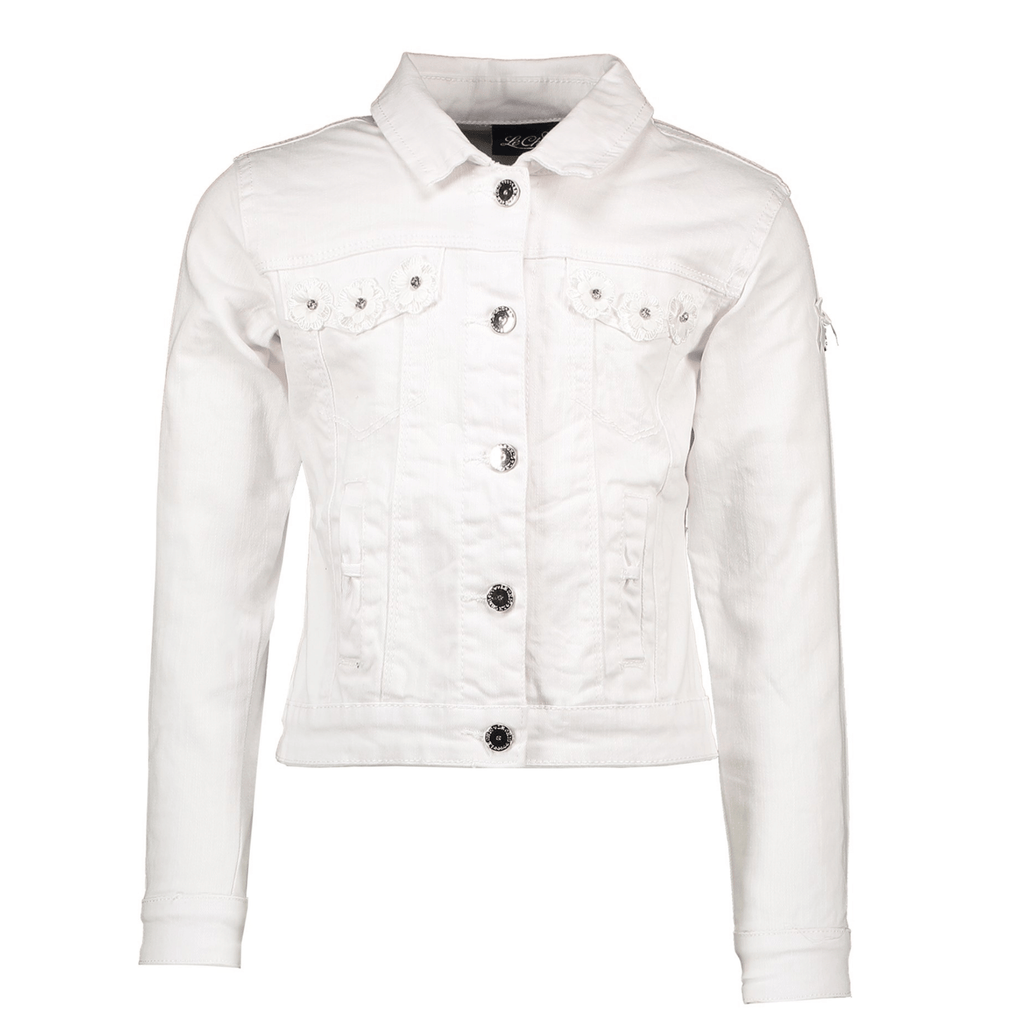 Le-chic-girls-summer-denim-jacket-in-white-358384-chislers