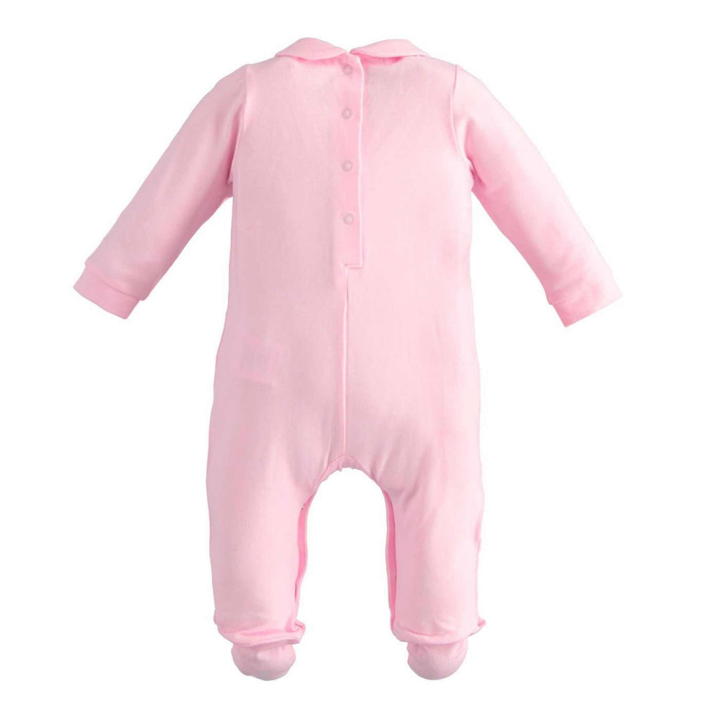 iDO-Pink-Teddy-One-Piece-Romper-Babygrow-For-Baby-Girl-Back