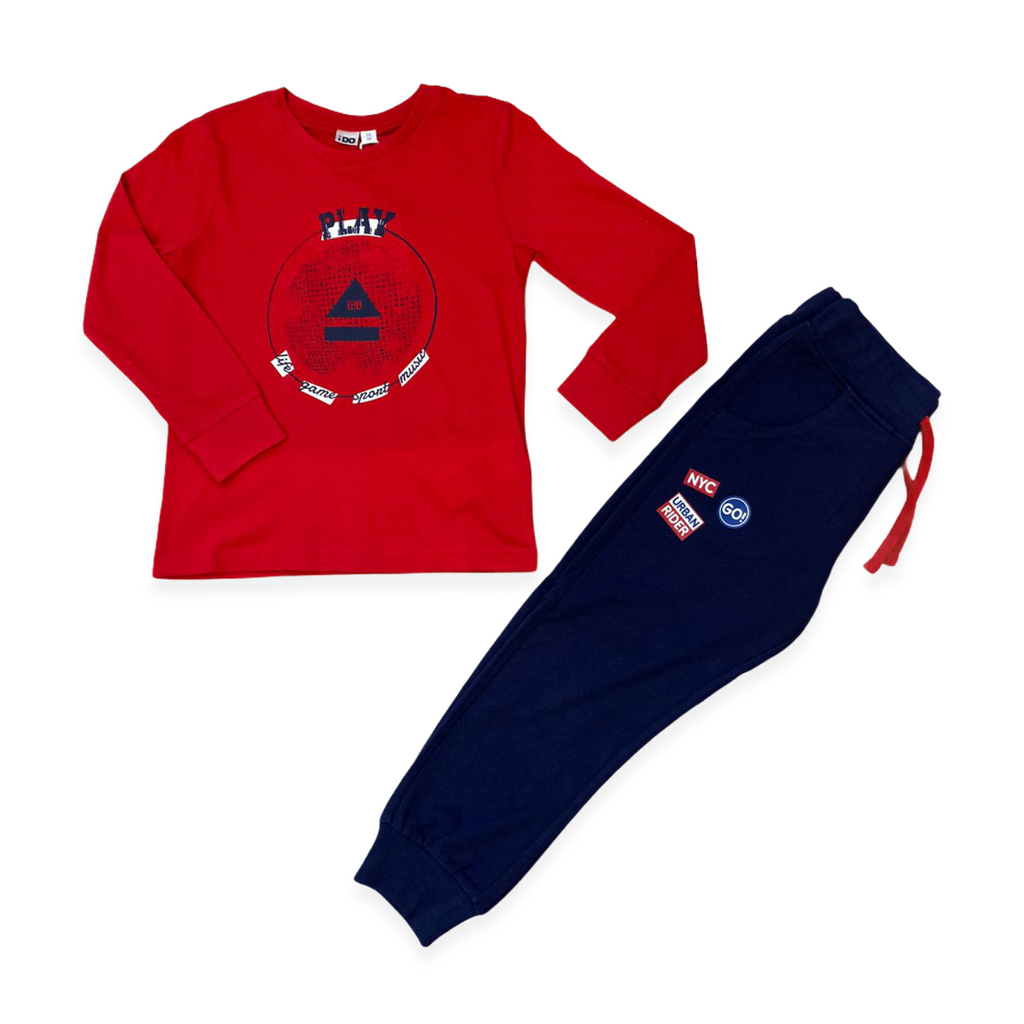 iDO-SS21-Red-AND-Navy-Boys-Sweatshirt-Top-And-Joggers-Gift-Set-Chislers-Ireland